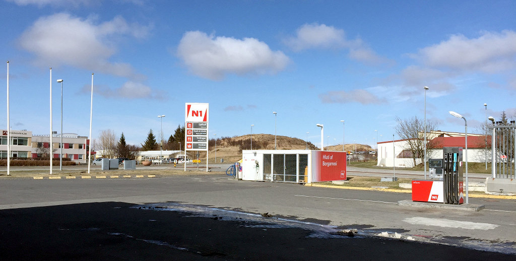アイスランドでのガソリンの入れ方